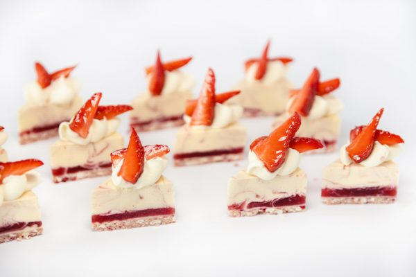 Catering - Berry Cheesecake